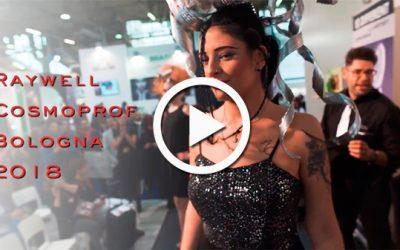 Novità per parrucchieri: è online il video Raywell con le novità prodotto presentate a Cosmoprof Bologna 2018