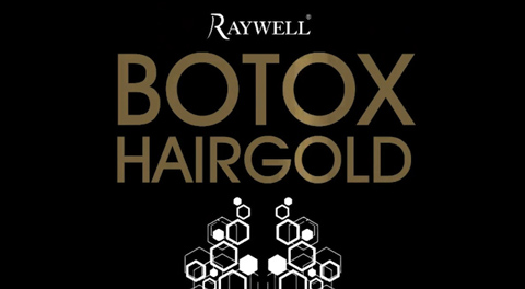 Raywell - Video Botox Hair Gold
